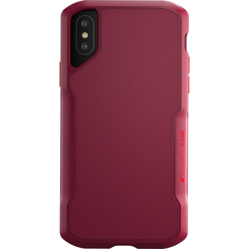 STMグッズ メンズ PC・モバイルギア アクセサリー Element Case Shadow Case for iPhone XS Max Red