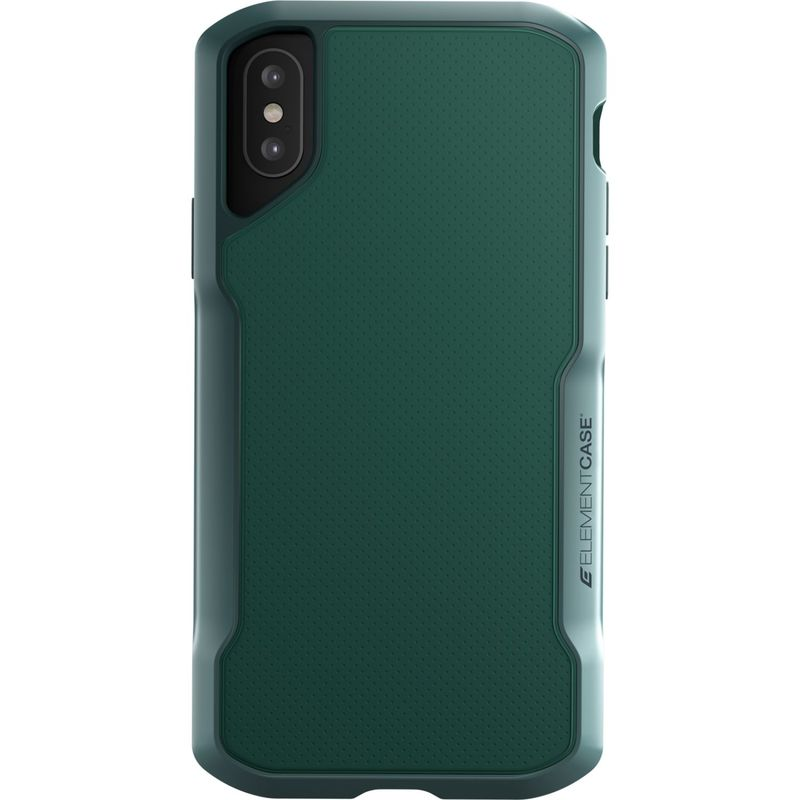 STMグッズ メンズ PC・モバイルギア アクセサリー Element Case Shadow Case for iPhone XS/X Green
