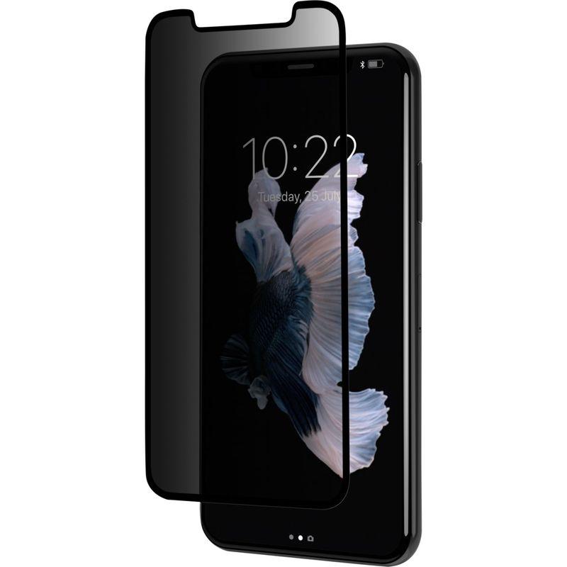 モシ メンズ PC・モバイルギア アクセサリー IonGlass Privacy Screen Protector for iPhone XS/X Black Clear/Glossy