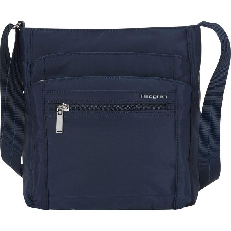 ヘドグレン メンズ ボディバッグ・ウエストポーチ バッグ Orva RFID Shoulder Bag Dress Blue