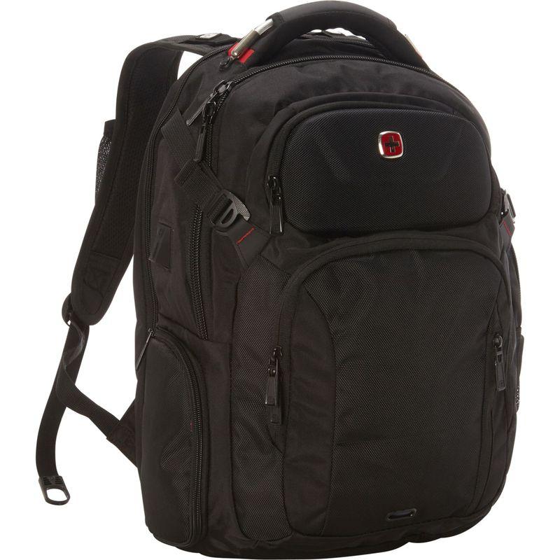 スイスギアトラベルギア メンズ スーツケース バッグ 2901 ScanSmart Laptop Backpack- eBags Exclusive Black