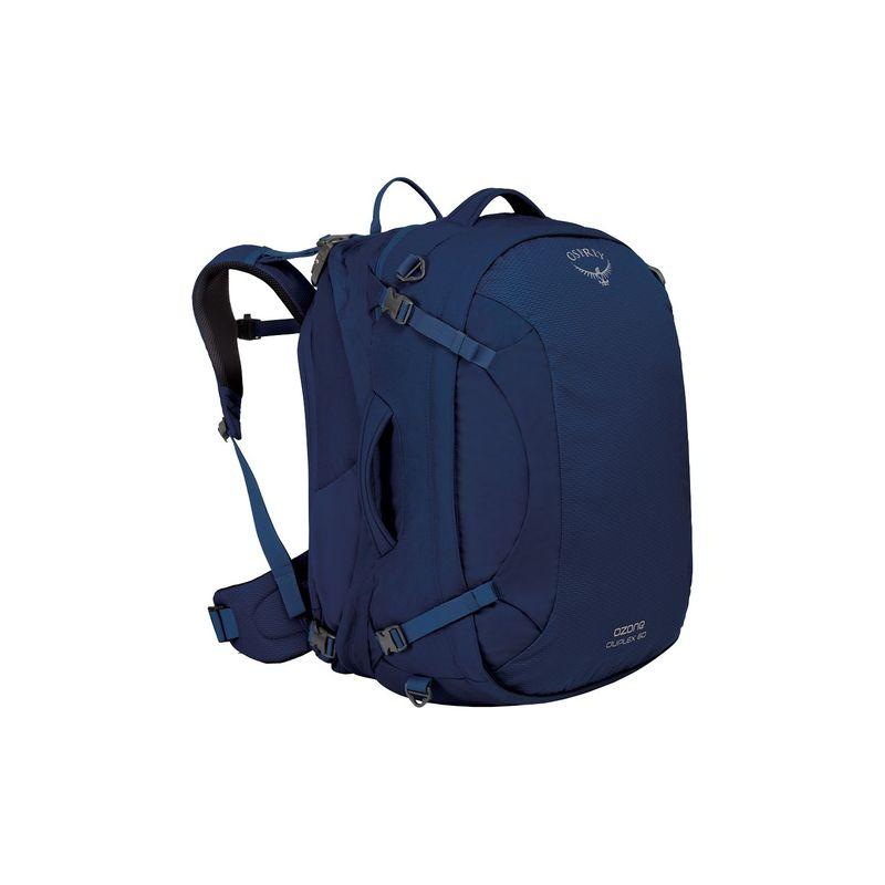 オスプレー レディース バックパック・リュックサック バッグ Women's Ozone Duplex 60L Backpack Bouyant Blue
