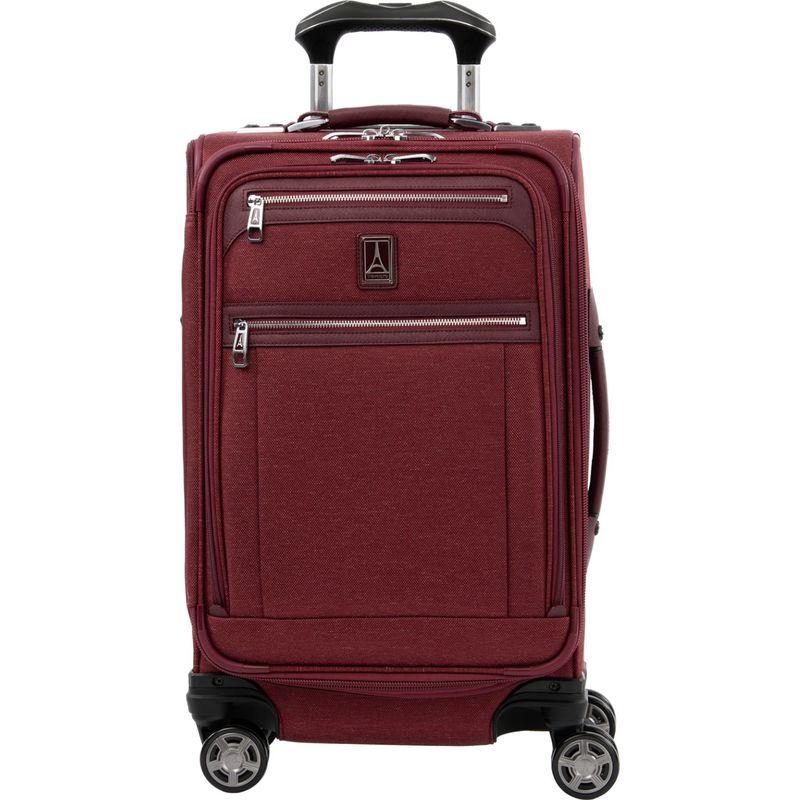 トラベルプロ メンズ スーツケース バッグ Platinum Elite 21 Expandable Carry-On Spinner Bordeaux