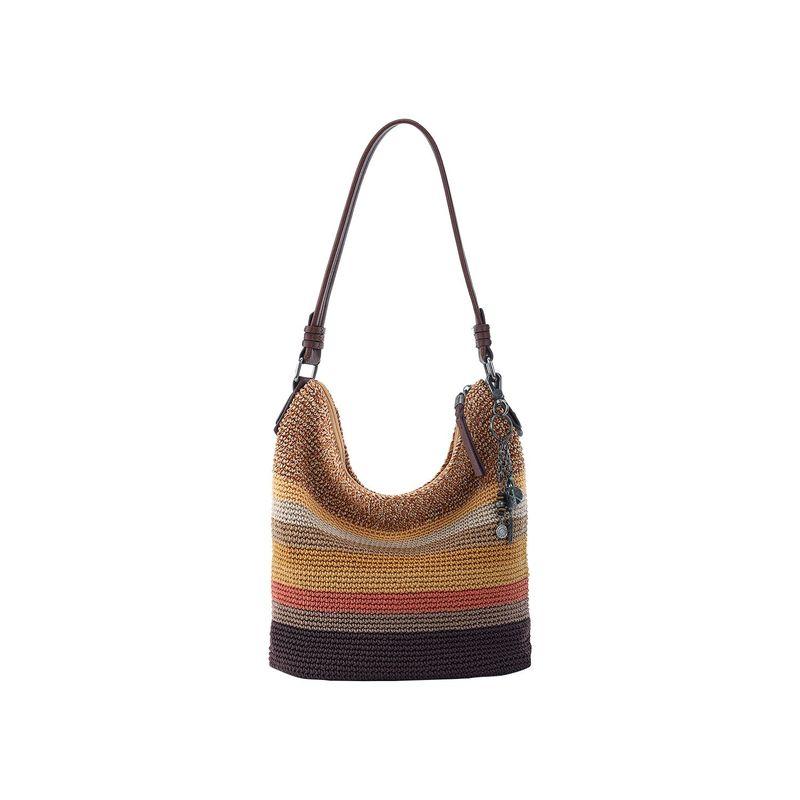 ザサック メンズ ハンドバッグ バッグ Sequoia Crochet Hobo Amber Multi Stripe