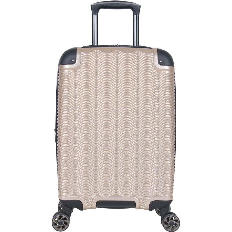 ケネスコール メンズ スーツケース バッグ Wave Rush 20 Expandable Hardside Carry-On Spinner Champagne