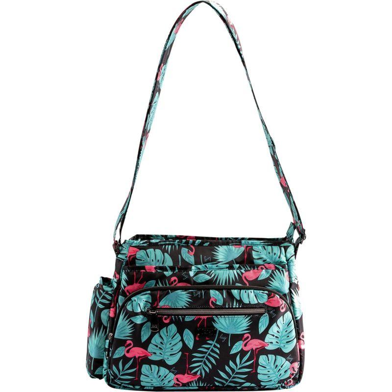 ラグ メンズ ボディバッグ・ウエストポーチ バッグ Shimmy 2 Crossbody Bag Flamingo Black
