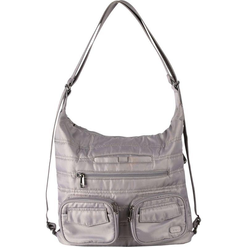 ラグ メンズ ショルダーバッグ バッグ Zipliner Convertible Shoulder Bag Pearl Grey