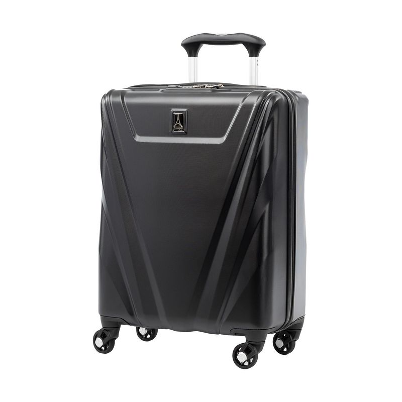 トラベルプロ メンズ スーツケース バッグ Maxlite 5 21.5 Hardside International Carry-On Spinner Black