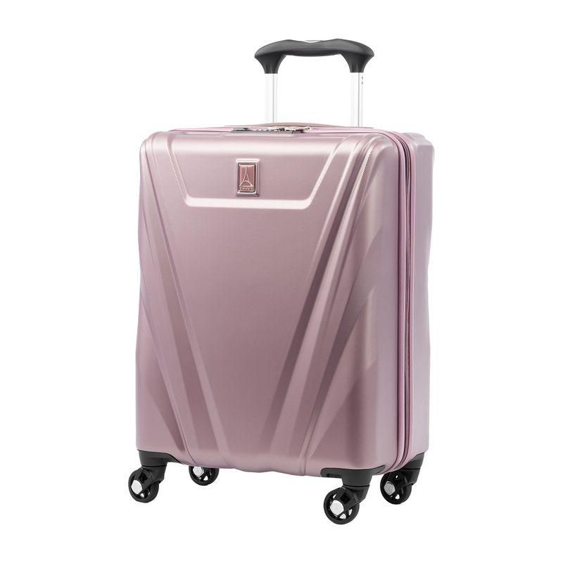 トラベルプロ メンズ スーツケース バッグ Maxlite 5 21.5 Hardside International Carry-On Spinner Dusty Rose