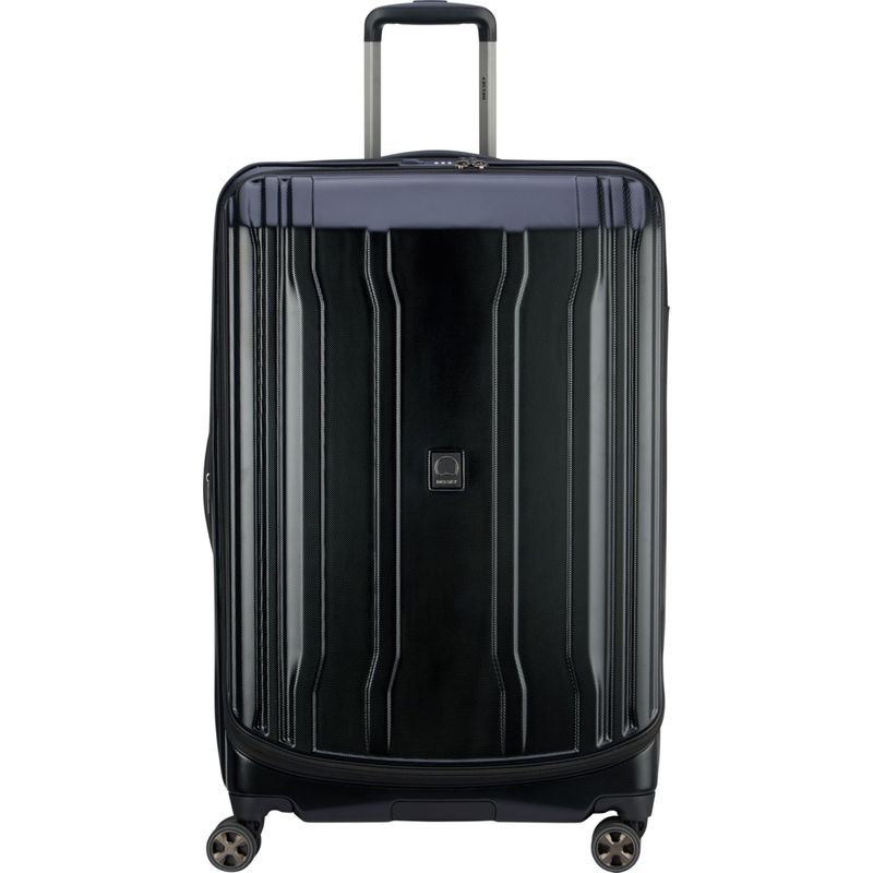 デルシー メンズ スーツケース バッグ Cruise Lite Hardside 2.0 29 Checked Expandable Suitcase Black