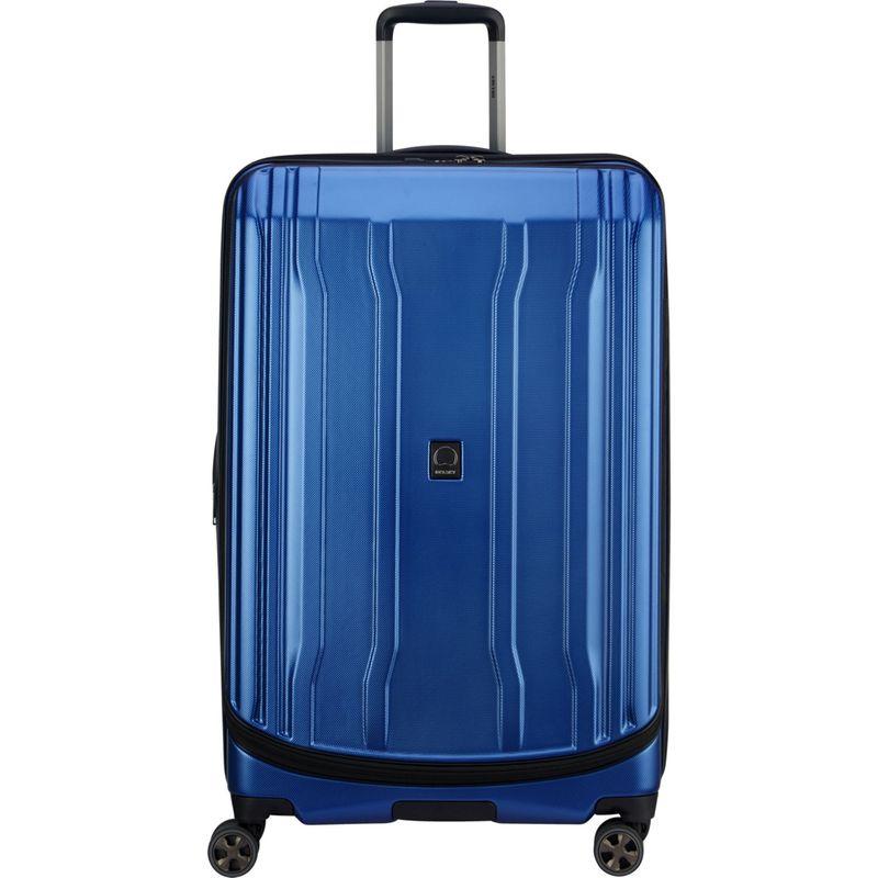 デルシー メンズ スーツケース バッグ Cruise Lite Hardside 2.0 29 Checked Expandable Suitcase Blue