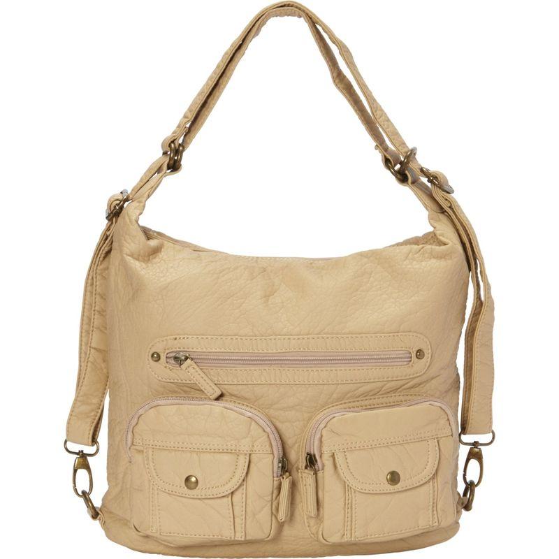 アンペレクリアーション メンズ ボディバッグ・ウエストポーチ バッグ Convertible Backpack Crossbody Purse Sand