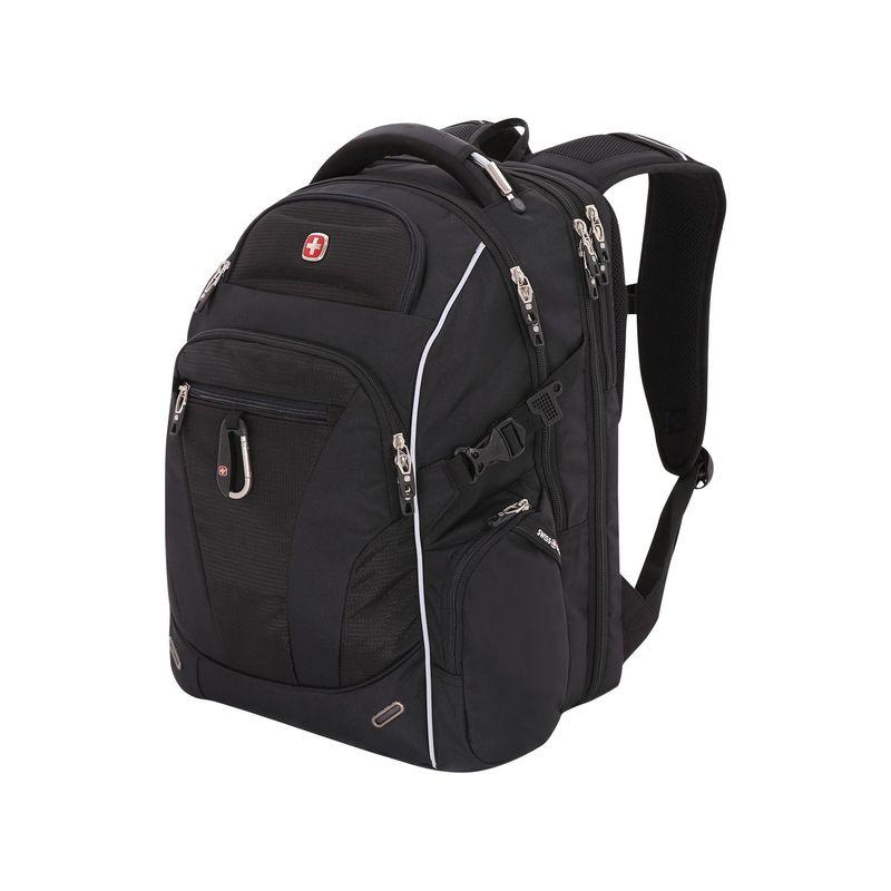 スイスギアトラベルギア メンズ スーツケース バッグ Scansmart Laptop Backpack 6752 Black