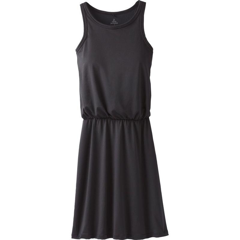 プラーナ レディース ワンピース トップス Mandoline Dress Plus 1XL - Black