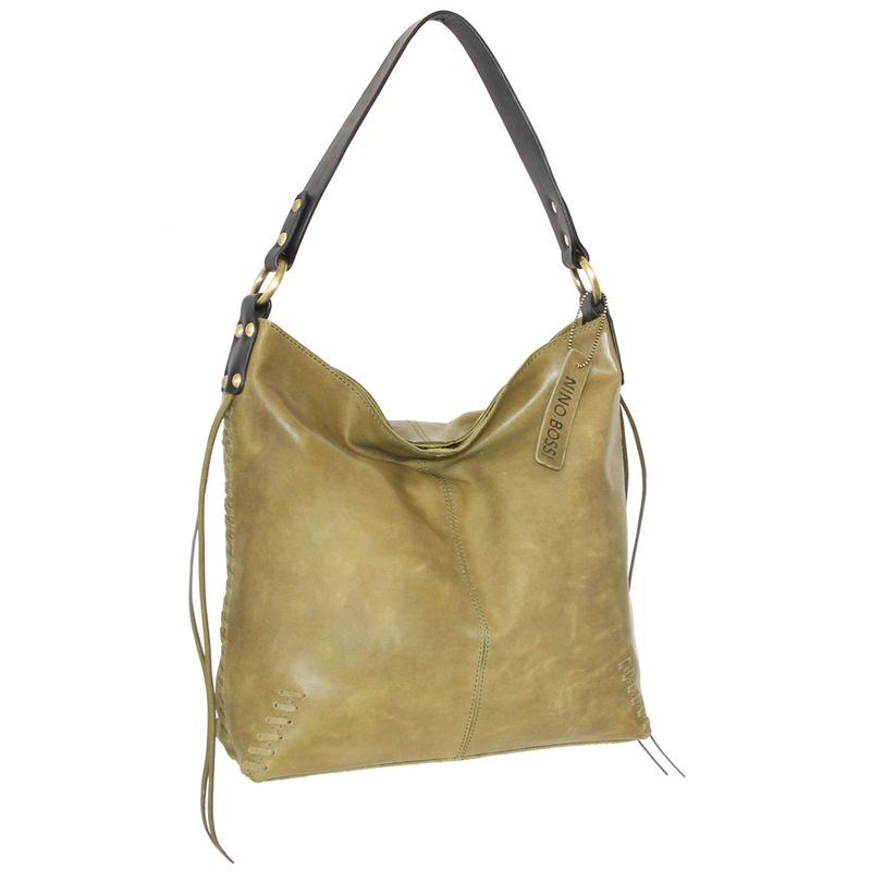 ニノボッシ メンズ ショルダーバッグ バッグ Hilary Shoulder Bag Light Green