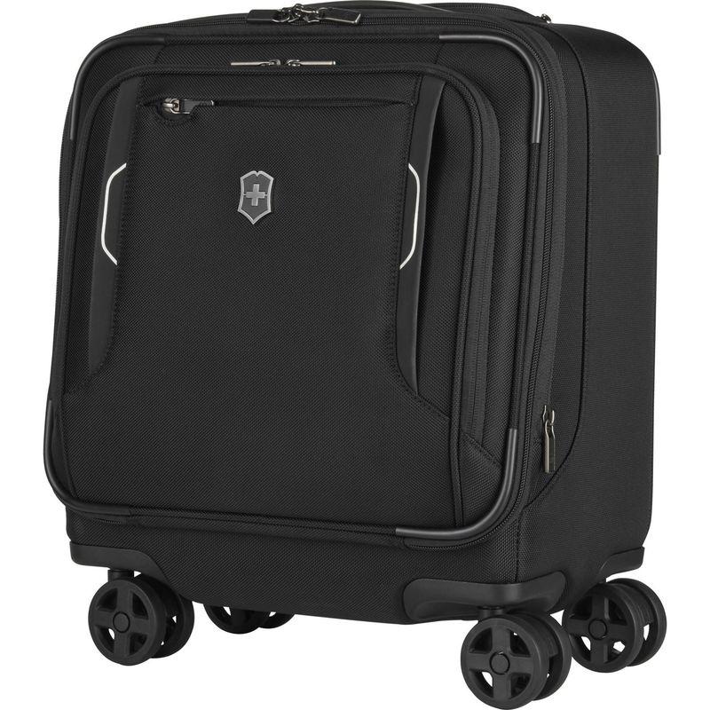 ビクトリノックス メンズ スーツケース バッグ Werks Traveler 6.0 Wheeled Boarding Underseat Tote Black