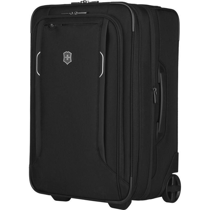 ビクトリノックス メンズ スーツケース バッグ Werks Traveler 6.0 2-Wheel Frequent Flyer Carry-On Black