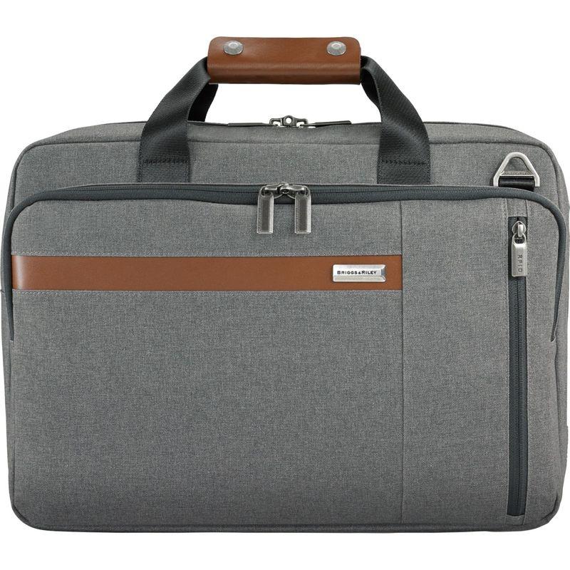 ブリグスアンドライリー メンズ スーツケース バッグ Kinzie Street 2.0 Convertible Brief Grey