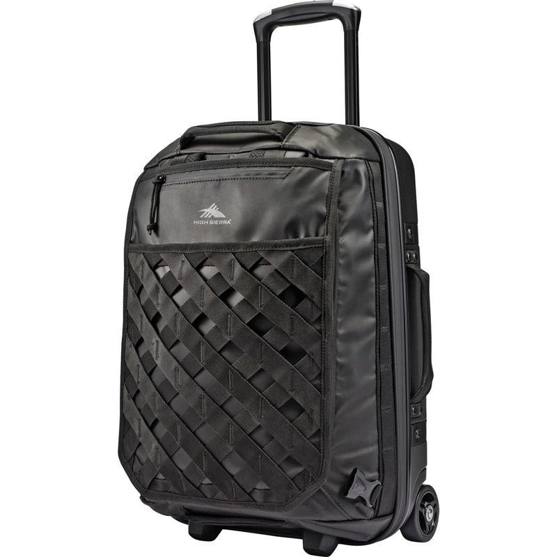 ハイシエラ メンズ スーツケース バッグ OTC 22 Hybrid Wheeled Duffel Black/Black/Black