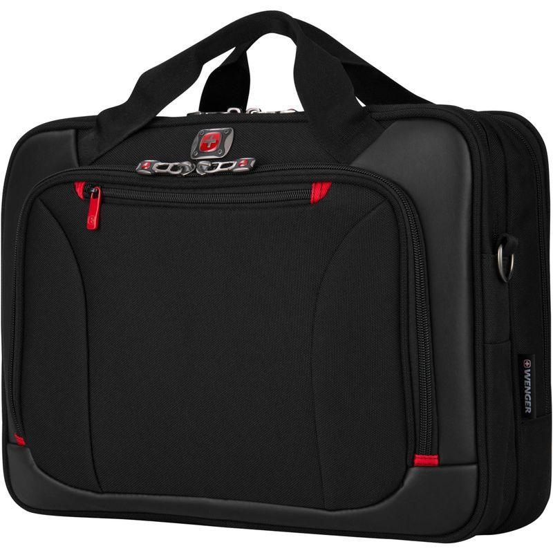 ウェンガー メンズ スーツケース バッグ Highwire 17 Deluxe Laptop Briefcase Black