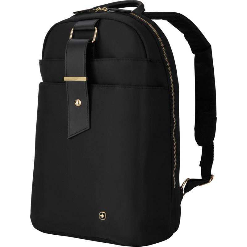 ウェンガー レディース スーツケース バッグ Alexa 16 Women's Laptop Backpack Black