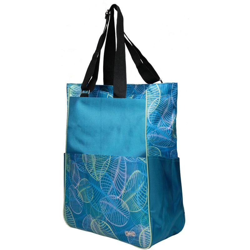 グローブイット メンズ ボストンバッグ バッグ Tennis Tote Bag Aqua Leaf