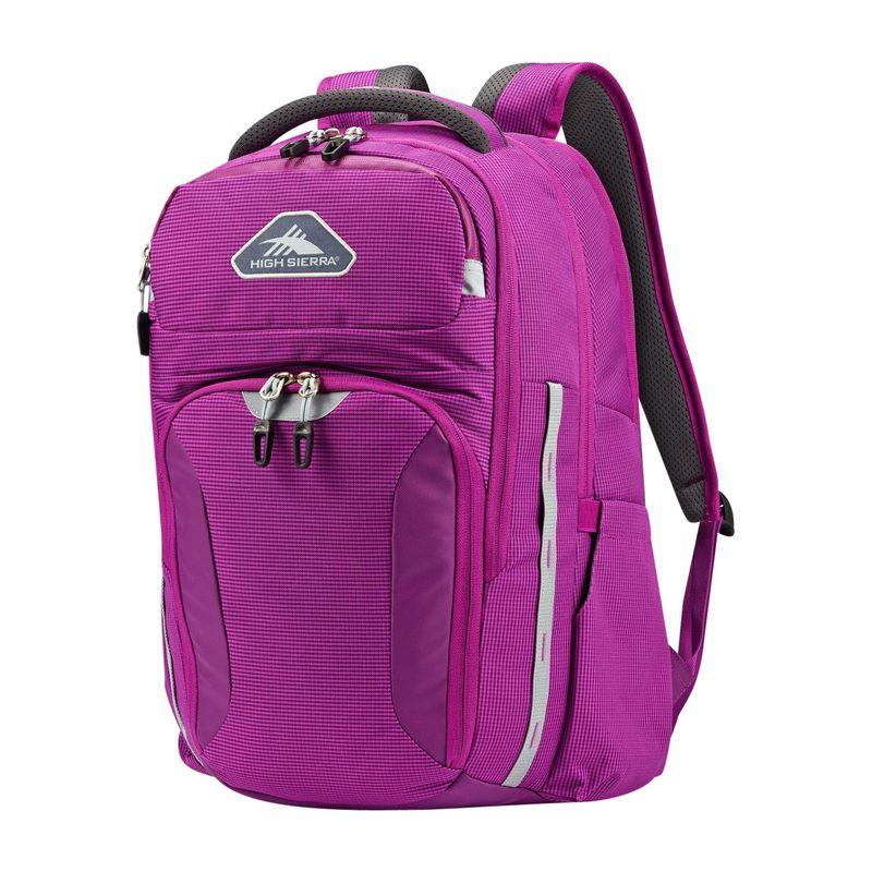 ハイシエラ メンズ バックパック・リュックサック バッグ Autry Laptop Backpack Hyacinth/Ash