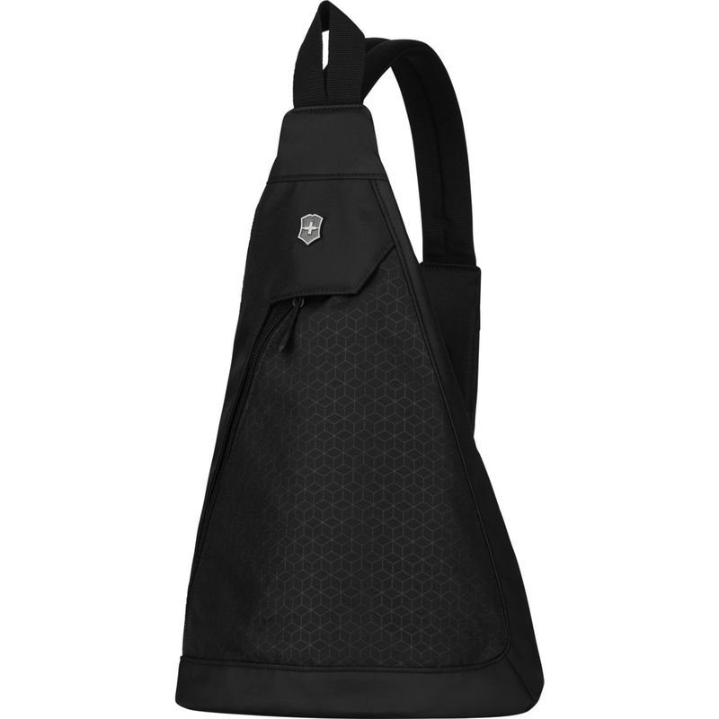 ビクトリノックス メンズ ショルダーバッグ バッグ Altmont Original Dual-Compartment Monosling Black