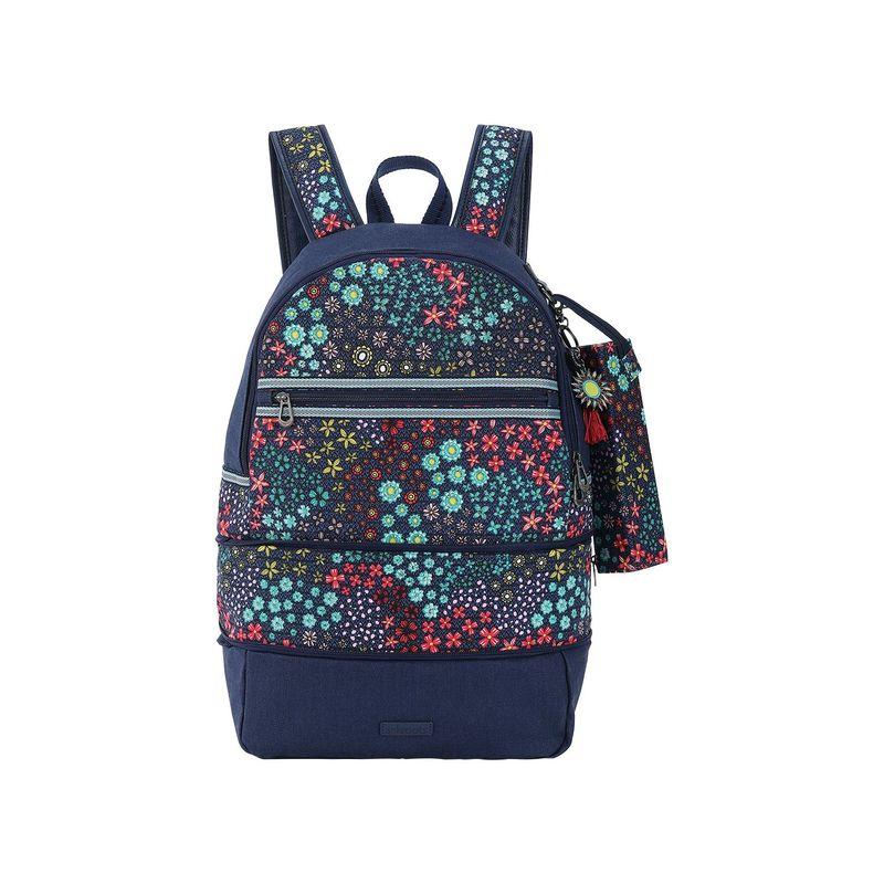 サックルーツ メンズ バックパック・リュックサック バッグ Artist Circle Entrada Backpack Navy Floral Spirit