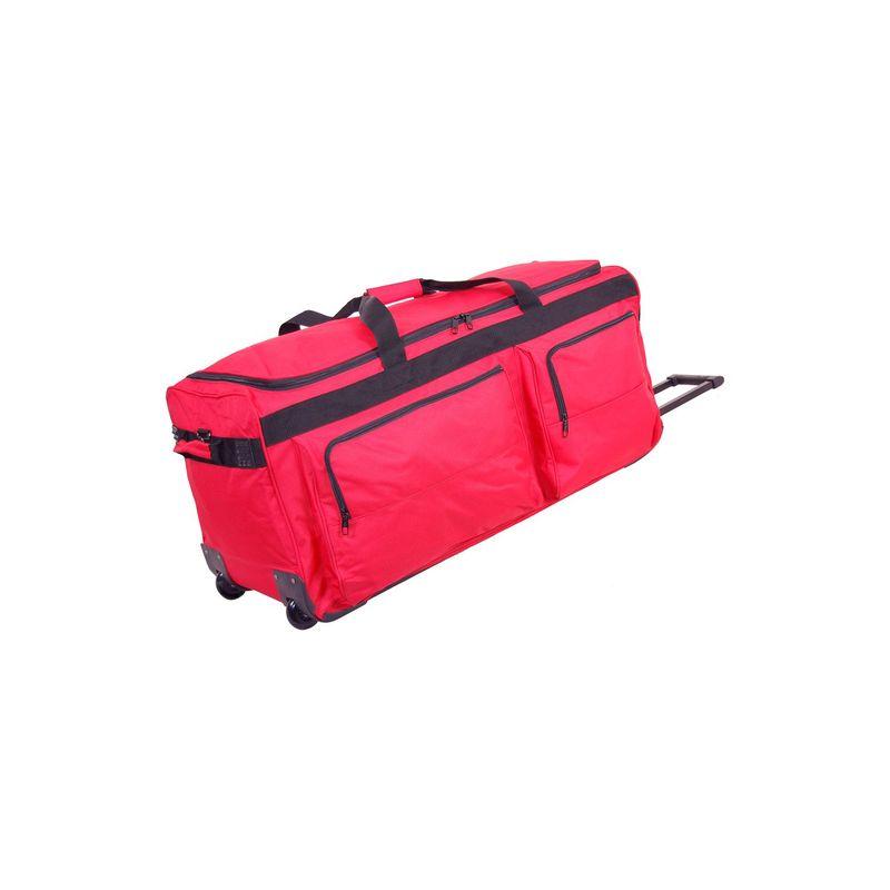 ネットパック メンズ スーツケース バッグ 35 General Duty Wheeled Duffel Red