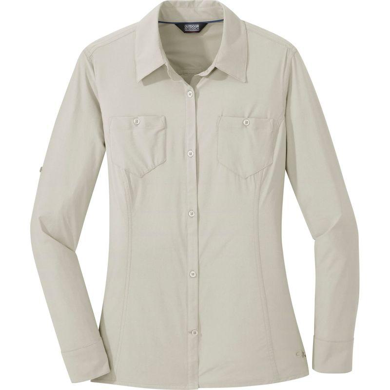 アウトドアリサーチ レディース シャツ トップス Womens Wayward Long Sleeve Shirt XS - Sand