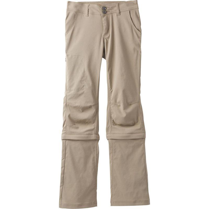 プラーナ レディース カジュアルパンツ ボトムス Halle Convertible Pant - Short Inseam 8 - Dark Khaki