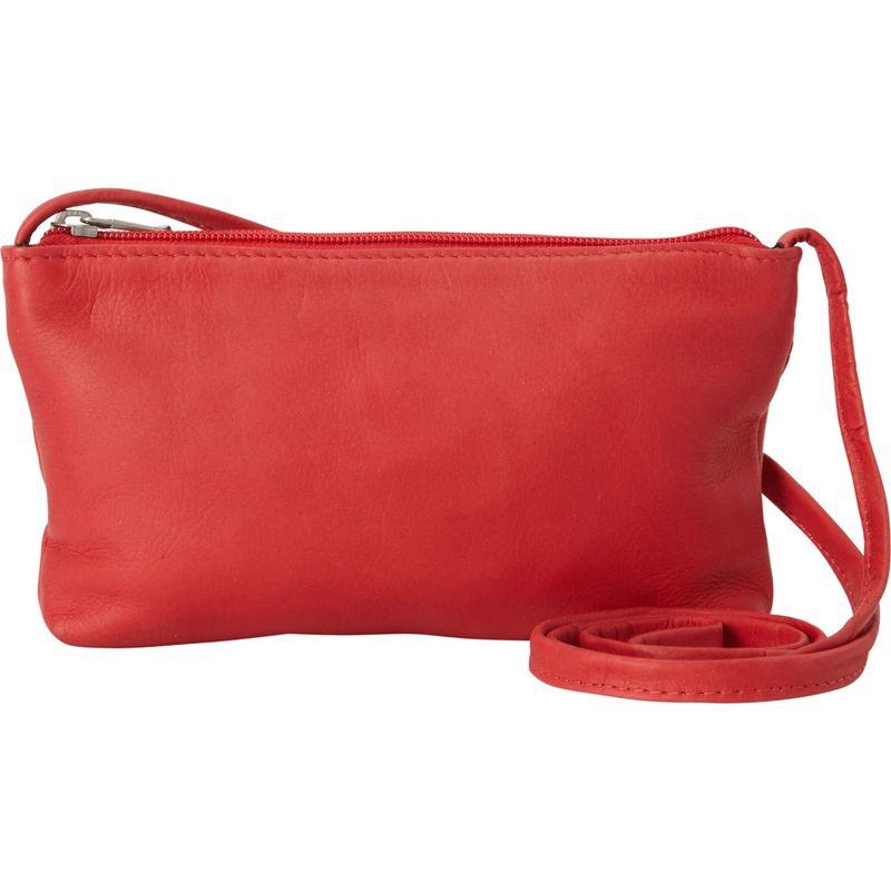 ルドネレザー メンズ ボディバッグ・ウエストポーチ バッグ Clover Mini Bag Red