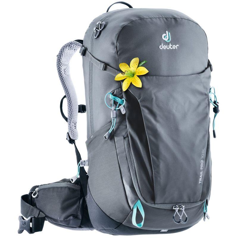 ドイター レディース バックパック・リュックサック バッグ Women's Trail Pro 30 SL Hiking/Climbing Pack Graphite/Black