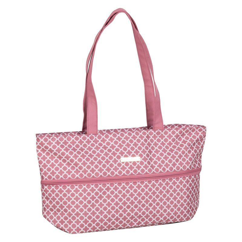 ジェニーチャン メンズ スーツケース バッグ Expandable Tote Rose Quartz