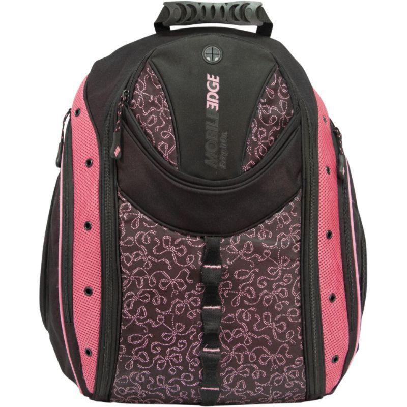 モバイルエッジ レディース スーツケース バッグ Women's 16PC / 17 MacBook Pro Express Backpack Black/Pink