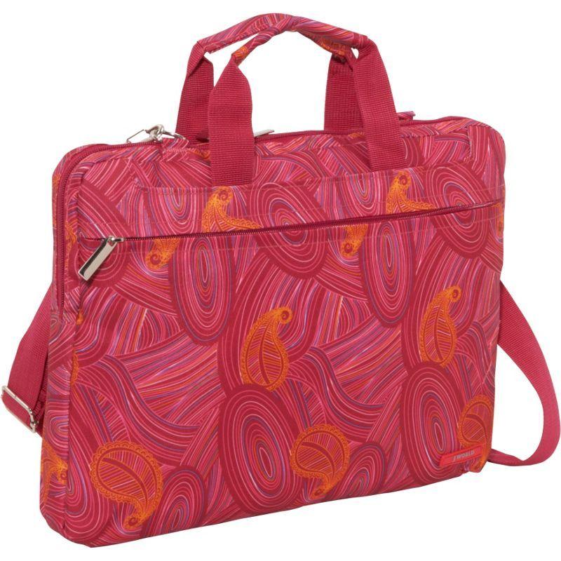 ジャイワールドニューヨーク メンズ スーツケース バッグ Jeanie Laptop Bag Paisley
