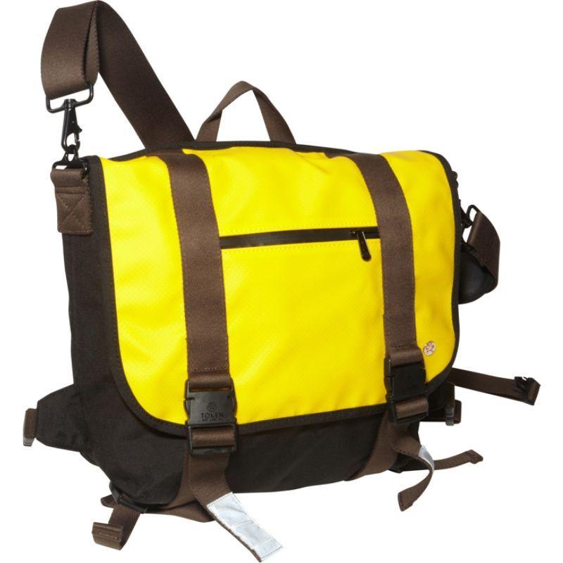 トーケン メンズ スーツケース バッグ Lorimer Matte Vinyl Messenger Bag (M) Yellow