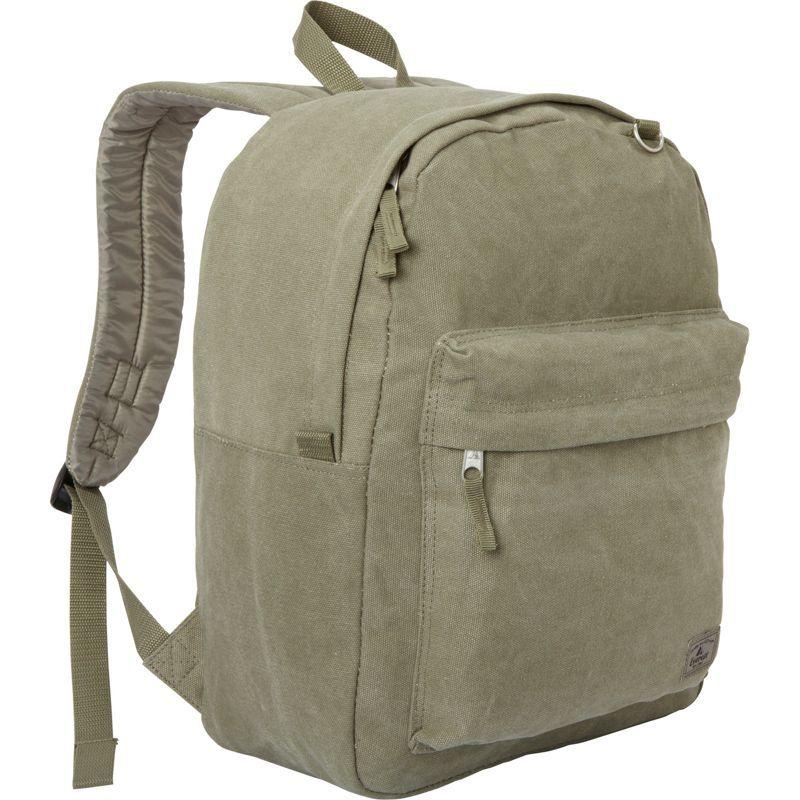 エバーレスト メンズ バックパック・リュックサック バッグ Classic Laptop Canvas Backpack Olive