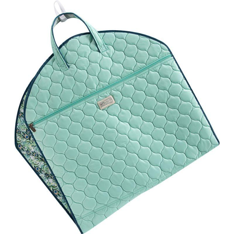 シンダ ビー メンズ スーツケース バッグ Slim Garment Bag Peacock