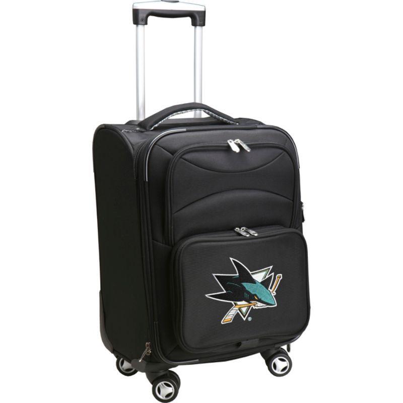 デンコスポーツ メンズ スーツケース バッグ NHL 20 Domestic Carry-On Spinner San Jose Sharks