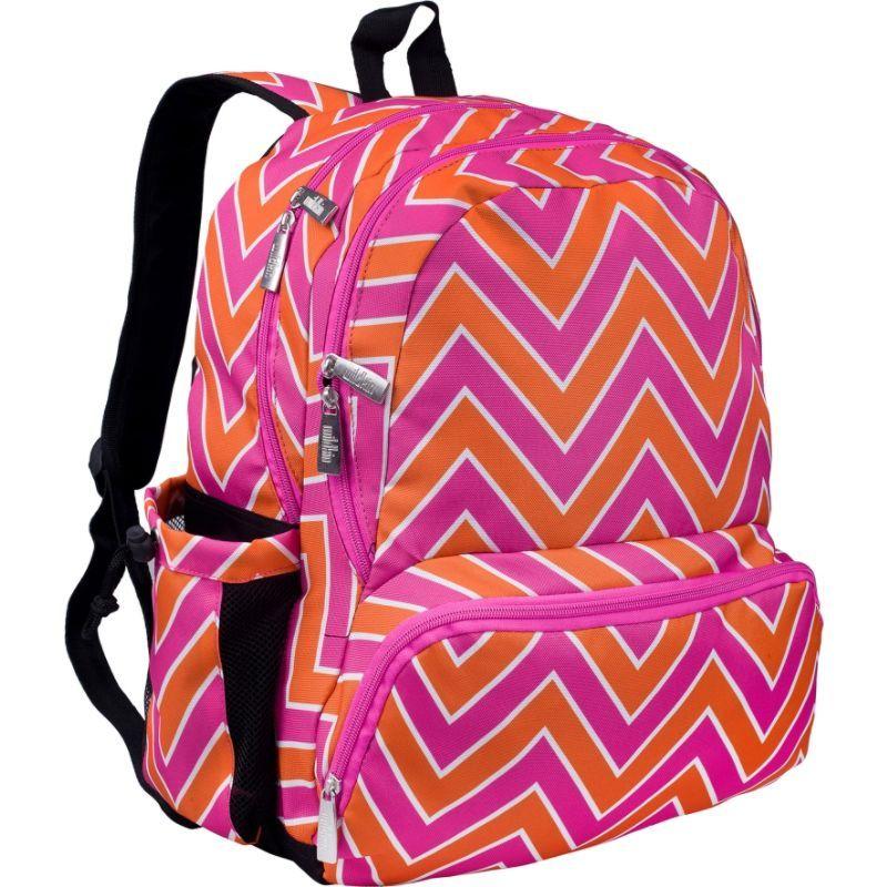 ワイルドキン メンズ バックパック・リュックサック バッグ Kids 17 Inch Backpack Zigzag Pink