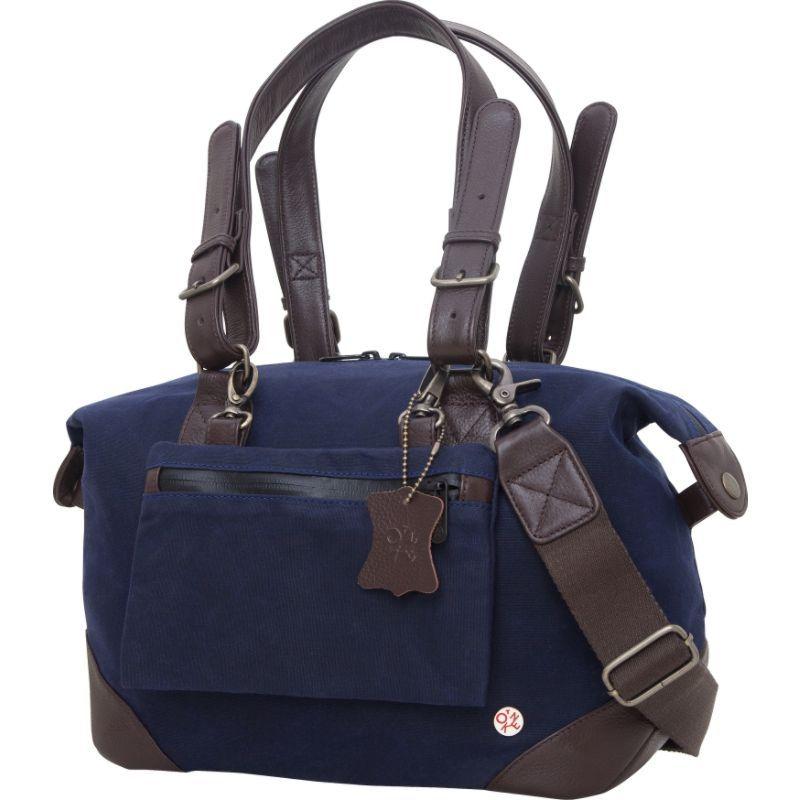 トーケン メンズ スーツケース バッグ Lafayette Waxed Duffel Bag (XS) Navy