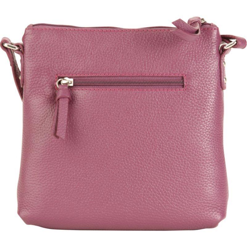 ハダキ メンズ ボディバッグ・ウエストポーチ バッグ Susan Crossbody Handbag Plum