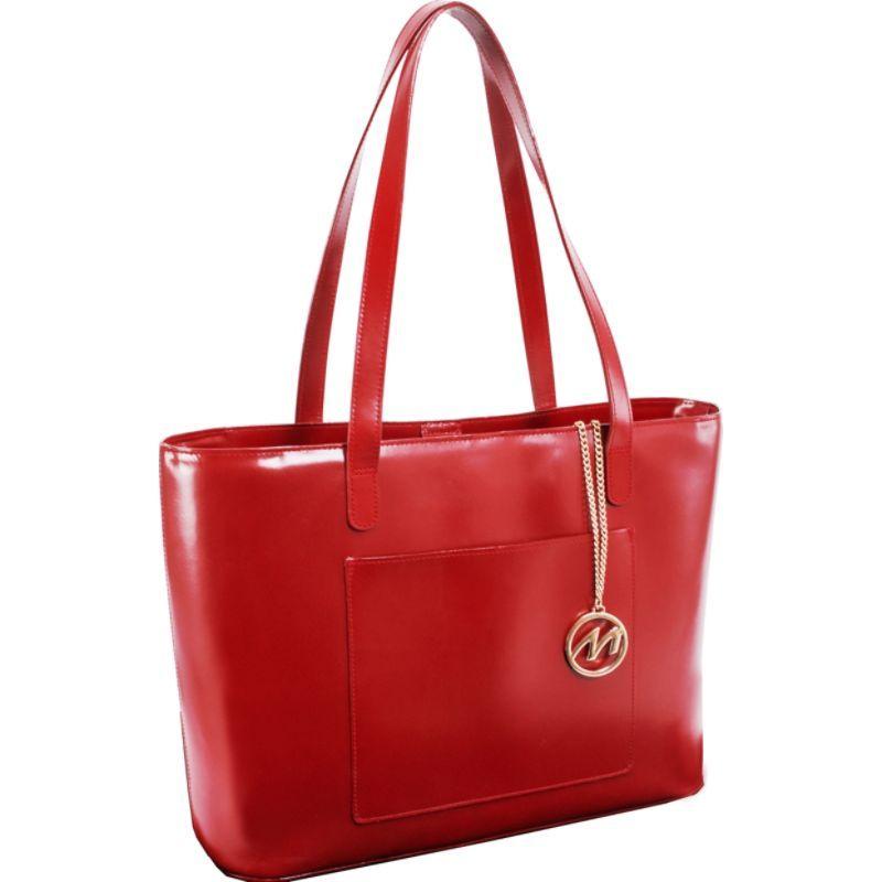 マックレイン メンズ スーツケース バッグ Alyson Tote Red