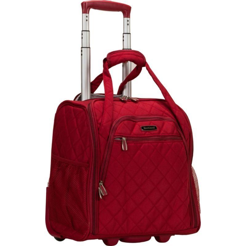 ロックランド メンズ スーツケース バッグ Wheeled Underseat Carry-On Red