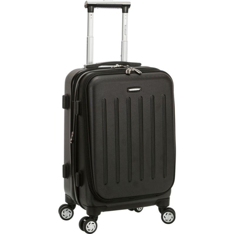 ロックランド メンズ スーツケース バッグ Titan 19 ABS Spinner Carry On Black