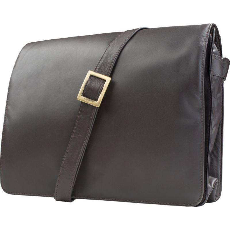 ビスコッティ レディース ショルダーバッグ バッグ Womens Flap-over Shoulder Crossbody Bag and Messenger Bag Chocolate