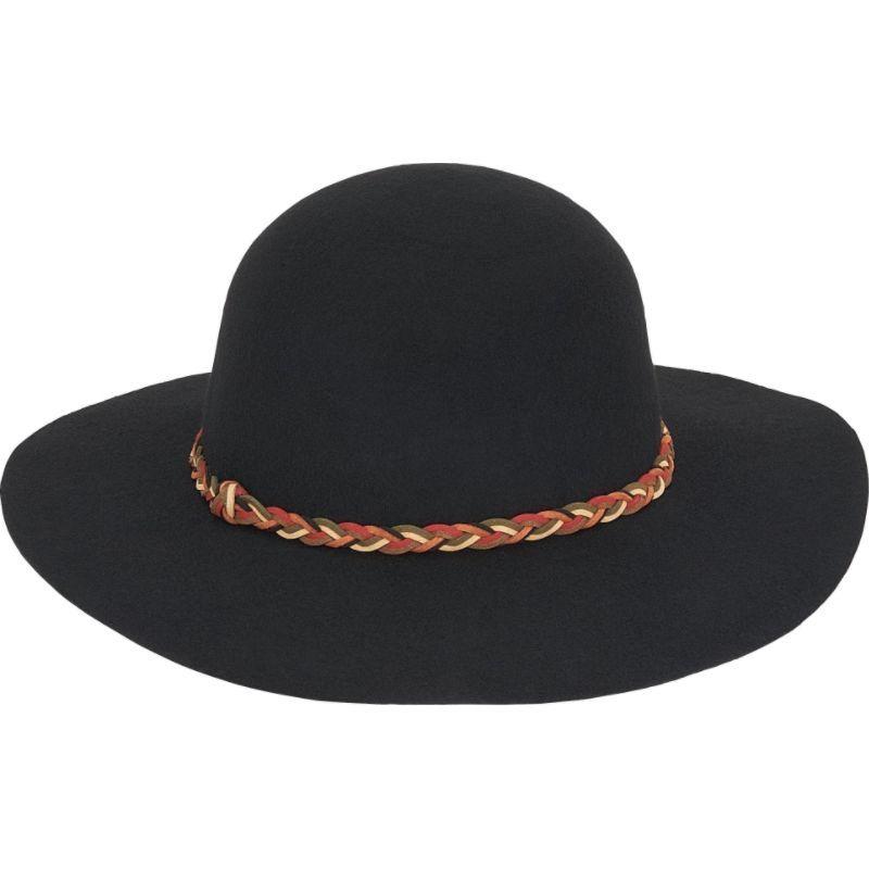 アドラ メンズ 帽子 アクセサリー Wool Felt Floppy Hat Black