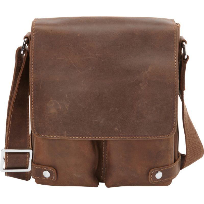 ヴァガボンドトラベラー メンズ ショルダーバッグ バッグ Full Grain Leather Messenger Bag Vintage Brown